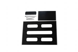 Weaving Loom Boards Set, BLACK 95 x 160mm & A4 Size, Comb & Needles. S7801